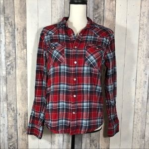 Levi's Plaid Flannel Small